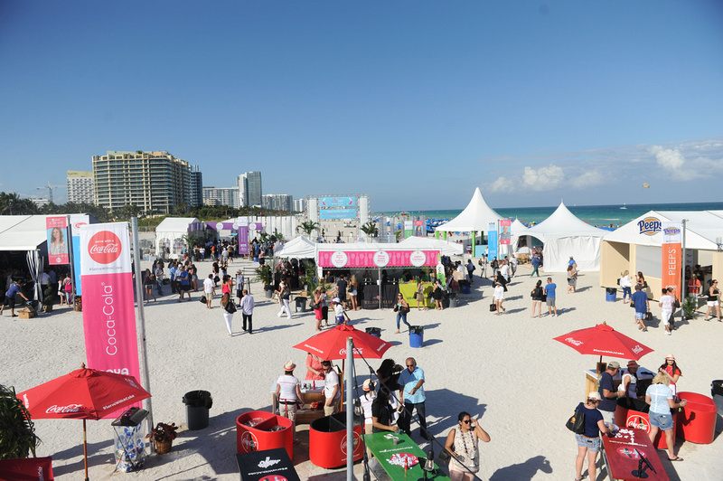 World Red Eye: 2017 Food Network & Cooking Channel South Beach Wine & Food Festival 2.26.17 - PUBLIC &emdash; View of Festival from Coca-Cola Riser4